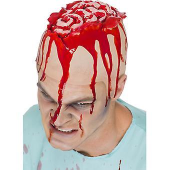 Otvorené Brain Cap Braincap Halloween Horor hladké