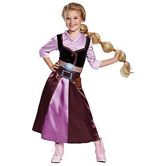 Rapunzel Season 2 Outfit Classic Disney Tangled Princess Child Girls Costume