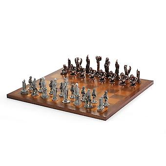 Lord Of The Rings By Royal Selangor 275510 War Of The Rings Chess Set