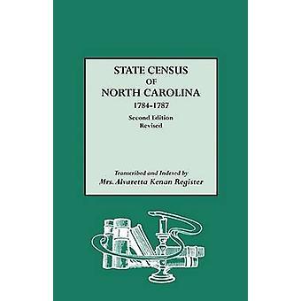State Census of North Carolina 17841787 by North Carolina