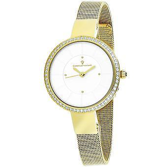 Christian Van Sant Women's Reign Silver Dial Watch - CV0222