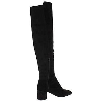 Kenneth Cole New York Frauen 7 ERYC Faux Wildleder gerippt Over-The-Knee Stiefel