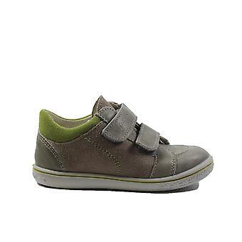 Ricosta Timmy 2522100-651 grau Nubuk Leder Jungen Rip Tape Casual Trainer Schuhe