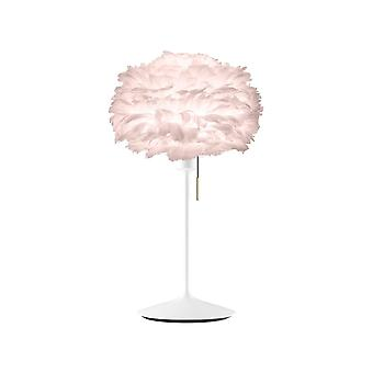 Lampe de table Umage Eos - Light Rose Feather Eos Mini/White Stand