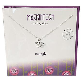The Silver Studio Mackintosh Butterfly Pendant