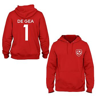David De Gea 1 Manchester United Style Player Hoodie