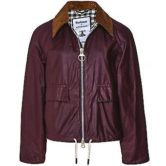 Barbour ALEXACHUNG Margot Waxed Cotton Jacket