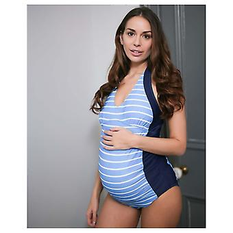 The Essential One Maternity Nautical Swimsuit 14