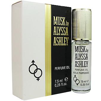 Musc d'alyssa ashley.25 oz 7,5 ml parfum d'huile