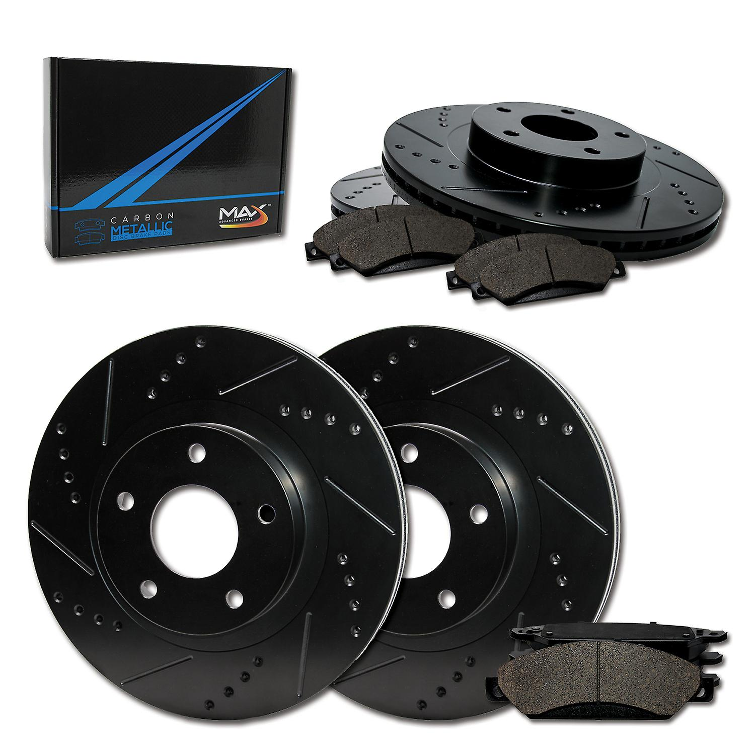 2000 2001 2002 Ford F150 See Desc. Rotors Ceramic Pads F OE Replacement
