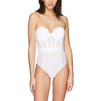 DKNY kvinnor ' s sheers Axelbandslös Body, mörk vit, 36b, mörk vit, storlek 36b