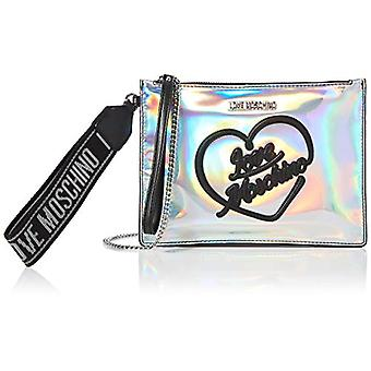 Kjærlighet Moschino Jc4021pp1a Sølv Dame Håndleddet Bag (Sølv) 1x17x23 cm (B x H x L)