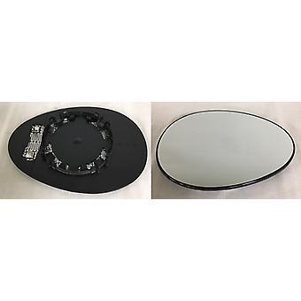 Vidrio espejo derecho (calentado) y soporte para mini convertible (R57) 2009-2015
