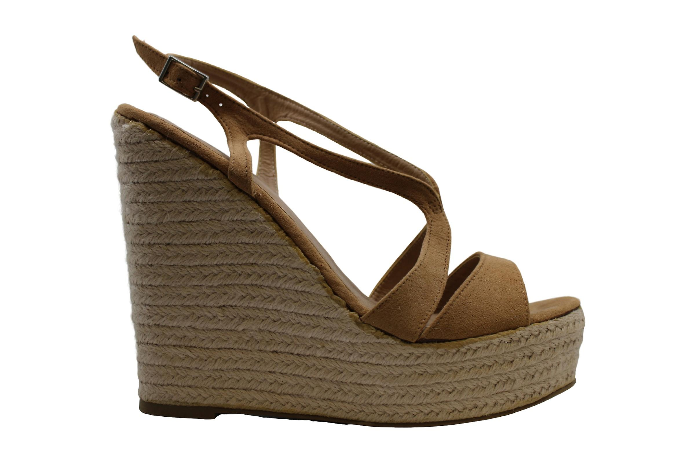 Sandales Xoxo Women Sabeen Suede Open Toe Casual Ankle Strap