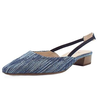 Peter Kaiser Castra Women's Dressy Low Heel Sandals In Jeans