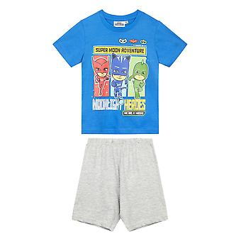 Pj masks boys short sleeve pyjama