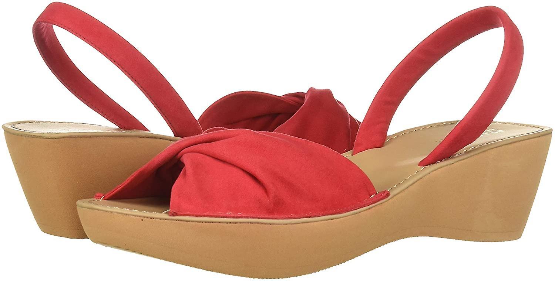 Kenneth Cole REAKCJA Kobiety's Fine Twist Platform Sandal Wedge DpREM