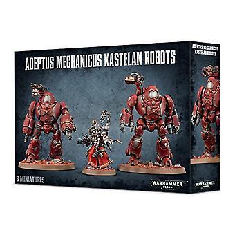 Warhammer 40K -- Adeptus Mechanicus -- الروبوتات كاستلان