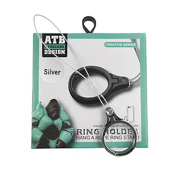 Ring Holder Rope Black