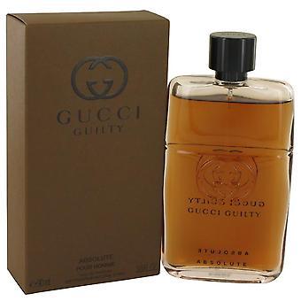 Gucci Guilty Absolute Eau De Toilette Spray door Gucci 3 oz Eau De Toilette Spray