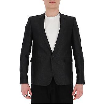 Saint Laurent 600331y1a051000 Men's Black Wool Blazer
