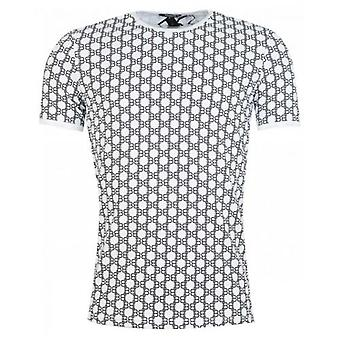 Balmain All Over Logo T-Shirt