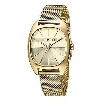 Esprit ES1L038M0095 Infinity Gold mesh-ur til kvinder