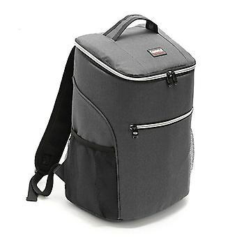 20L Flexible cooler backpack with Extra space grey