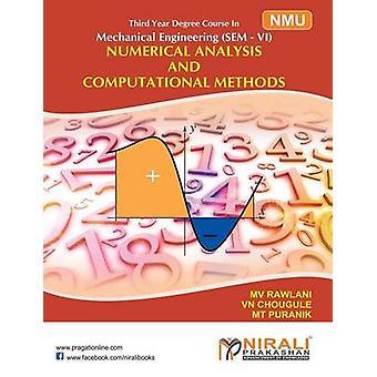 NUMERICAL ANALYSIS  COMPUTATIONAL METHODS by CHOUGULE & V N