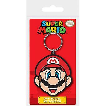 Super Mario Mario Gummi Nyckelring