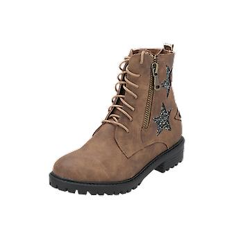 Cassis cote d'azur OSLO Women's Boots Brown Lace-Up Boots Winter