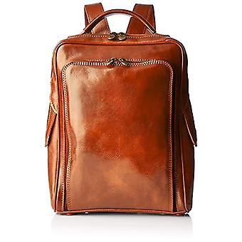All-Fashion Chicca Cbc18555gf22 - Unisex Backpack Adult - Brown (Leather) - 8x35x25 cm (W x H x L)