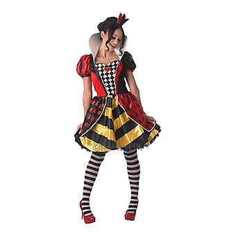 Women Red Queen Costume - Alice in Wonderland