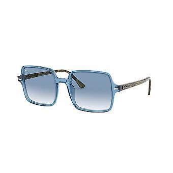 Ray-Ban Square II RB1973 12833F Hellblau/Klar blau Farbverlauf Sonnenbrille