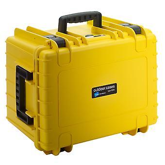 B&W Outdoor Case Typ 5500, Facheinteilung, Gelb