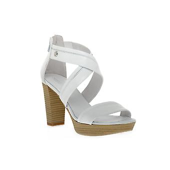 Nero giardini 707 Tigers white sandals