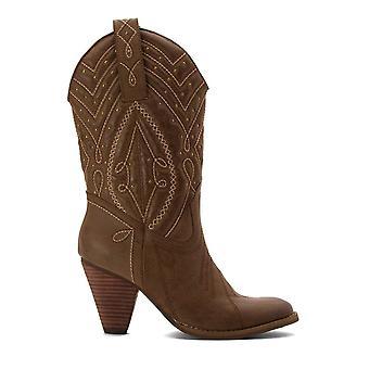 Chaussures volatiles femmes-apos;s ZALA-232 Cuir Fermé Toe Knee High Cowboy Boots