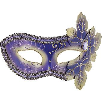 Purple Venetian Mask For Masquerade