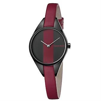 Calvin Klein K8P237U1 Rebel Red and Black Dial Ladies Guarda