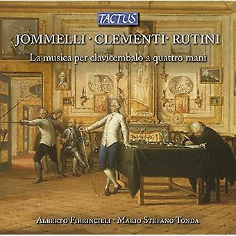 Clementi / Rutini - Four Hands Music for Harpsichord [CD] USA import