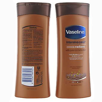 Vaseline Intensive Care Cocoa Radiant Body Lotion 400ml