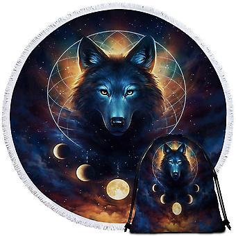 Maan Wolf strandlaken