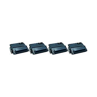 HP 38 a トナー ユニット用 RudyTwos 4 x ブラック Laserjet 4200、4200DTN、4200DTNS、4200DTNSL、4200 L、4200LN、4200LVN、4200N、4200TN との互換性