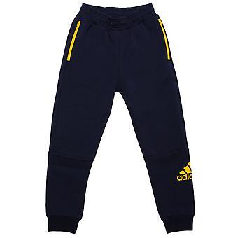 Boy's adidas Junior Sport ID Jog Pantaloni in Blu