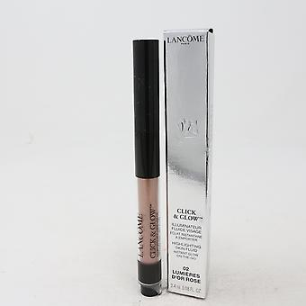 Lancome Click & Glow Highlighting Skin Fluid  0.08oz/2.4ml New With Box