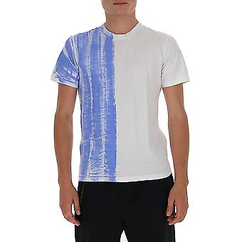 Maison Margiela S30gc0721s23788961 Heren's Multicolor Katoen T-shirt