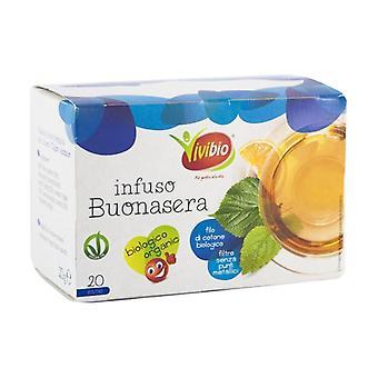 Good evening tea 20 packets of 20g