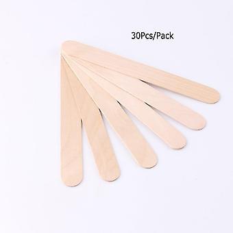 Disposable Wooden Waxing Spatulas Stick Applicators Professional Facial Spa