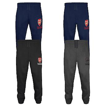 Arsenal FC virallinen jalkapallo lahja miesten fleece joggerslen lenkkeily housut