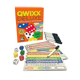 Games - Ceaco Gamewright - Qwixx Deluxe A Fast Family Dice Game 7117